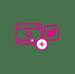Los videos se pueden compartir