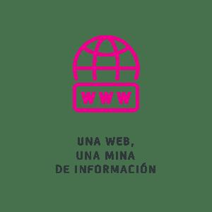 Una web, una mina de información